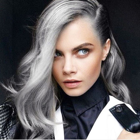 salt and pepper hair trend