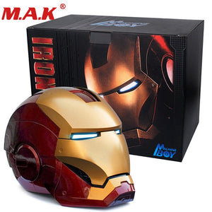 1:1 wearable Iron man MK7 helmet cosplay collectable