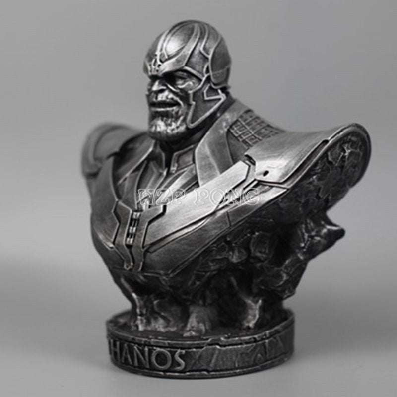 Black Panther |  Iron Man | Thanos Model Avengers 3 Collection Statue