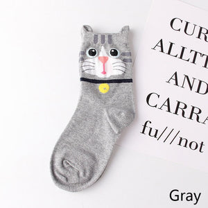 Hot 3D Animal Cat Dog Socks