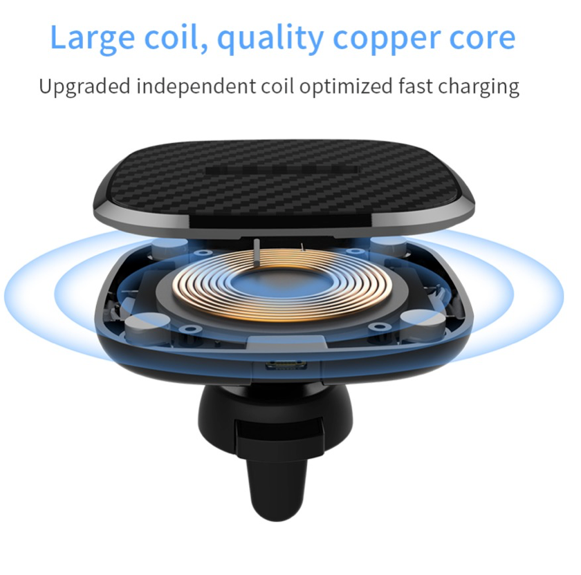 "BUNDLE: Nillkin Qi Wireless charger Car charger pad + Magnetic wireless charger case cover For iPhone X 5.8"" Sale"