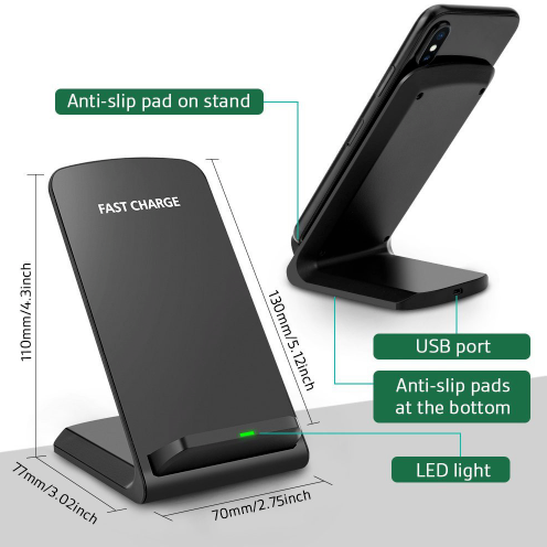 Qi Wireless Charging Dock