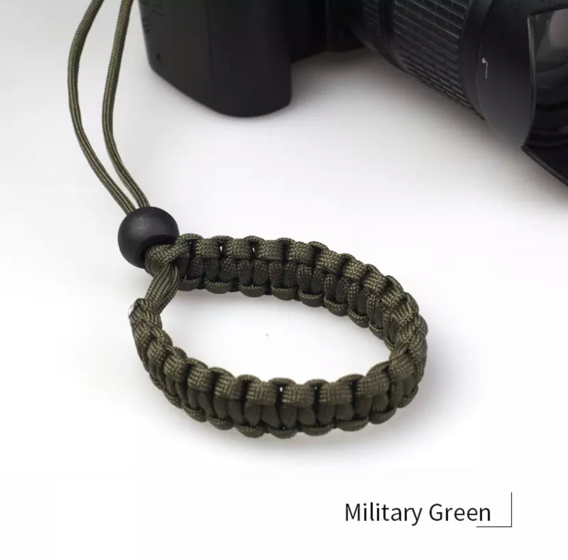 Wrist Strap Paracord Braid for Mirrorless Camera Handmade