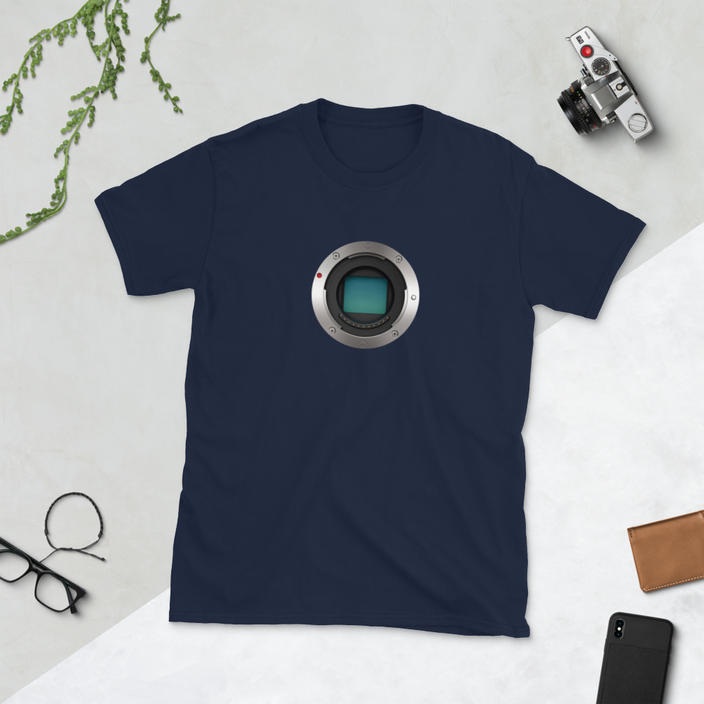 Micro Four Thirds Sensor Short-Sleeve Unisex T-Shirt