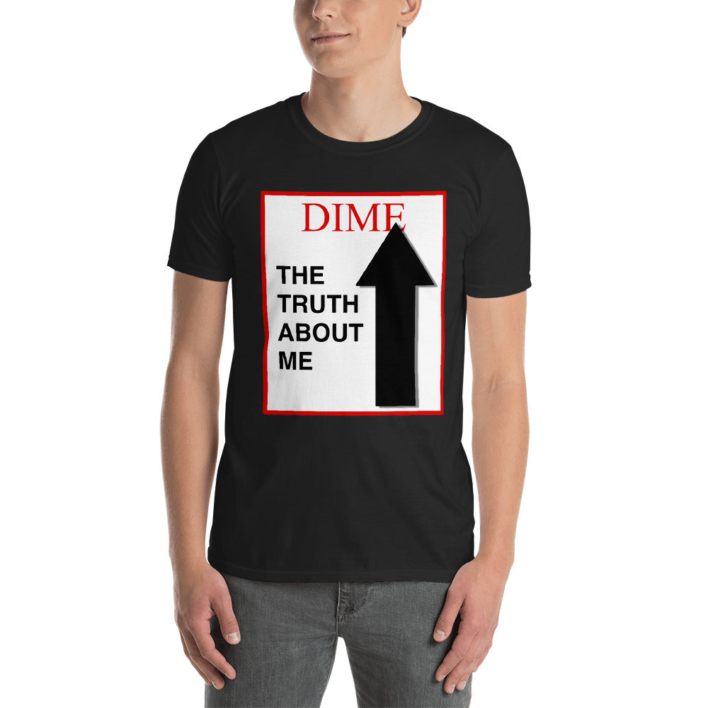 "Time Magazine Style ""im a DIME"" Short-Sleeve Unisex T-Shirt"