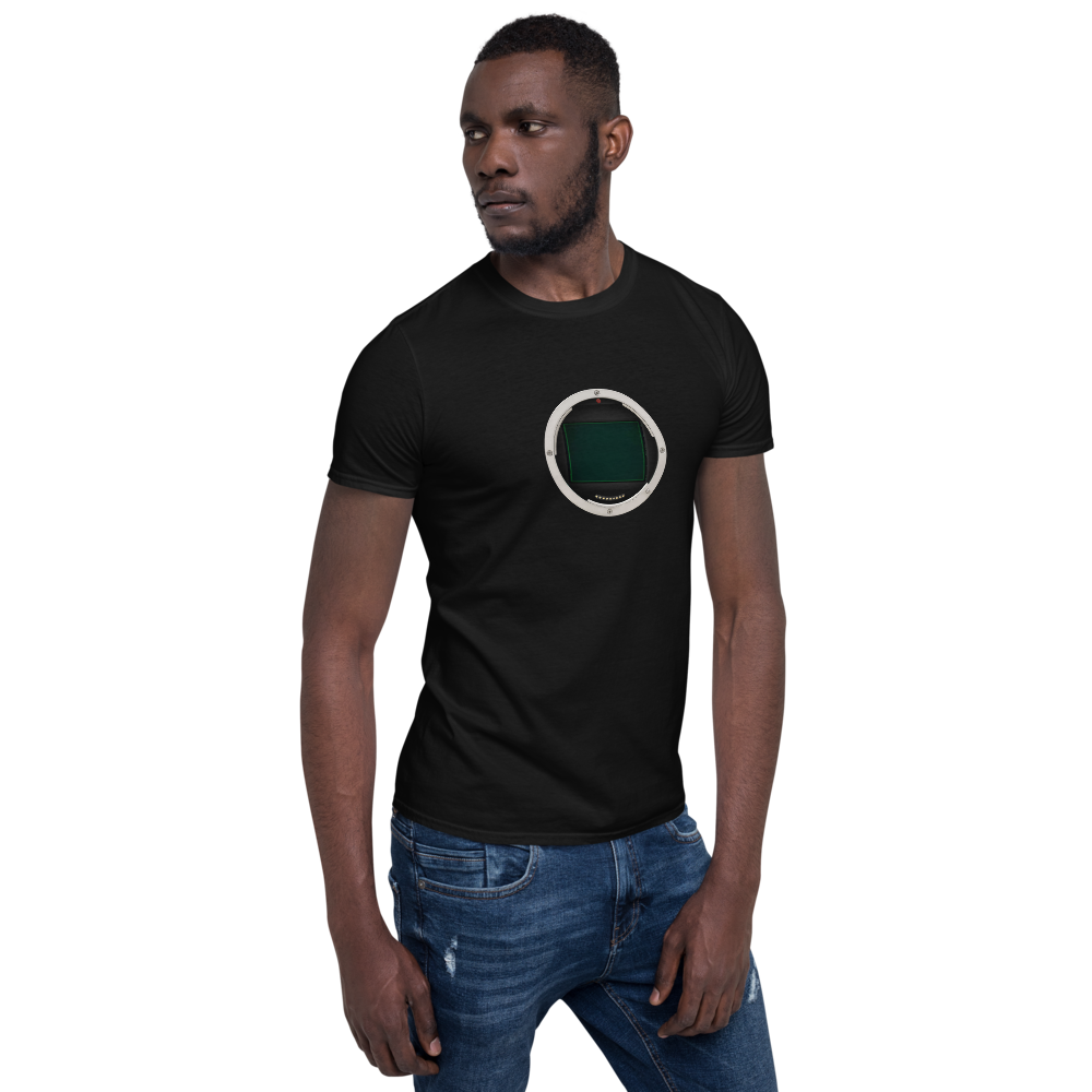 The King of all Sensors Medium Format 100% Short-Sleeve Unisex T-Shirt
