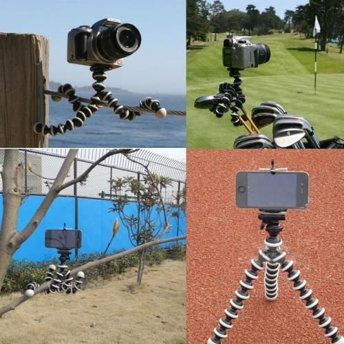 Octopus Tripod Stand Holder Universal Flexible Gorillapod Tripods Monopod for Action Camera Smartphone
