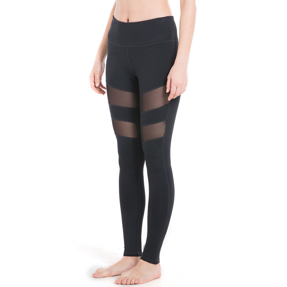 Pockets High Waisted Nylon Workout Leggings
