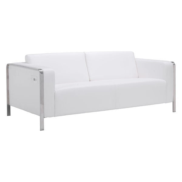 Zuo Thor Sofa White