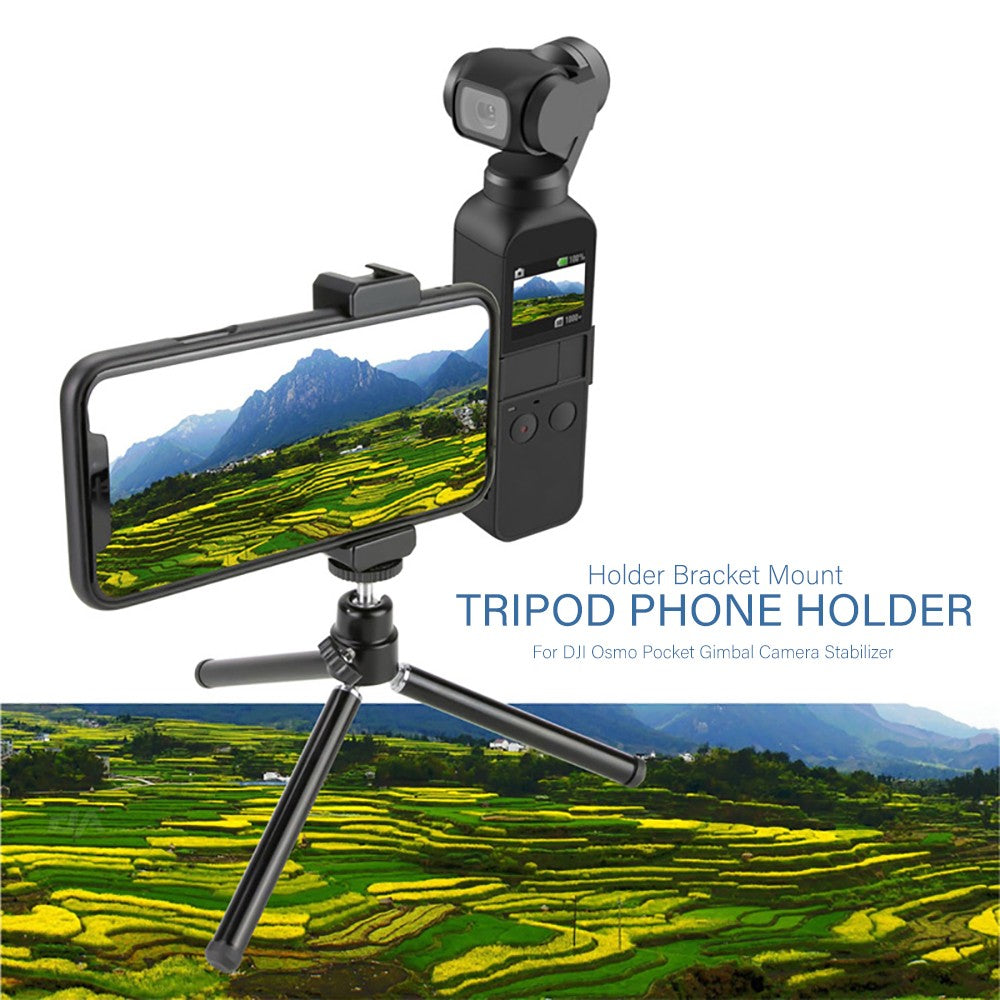 Holder Bracket Mount Tripod Phone Holder for DJI Osmo Pocket Gimbal Camera Stabilizer