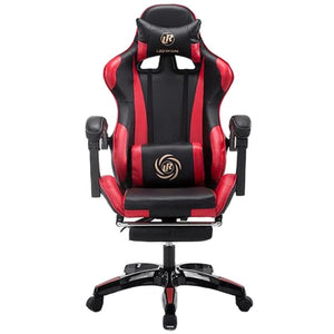LIKE REGAL Multifunctional Fashion  Household Reclining Office Chair With Footrest Racing Seat