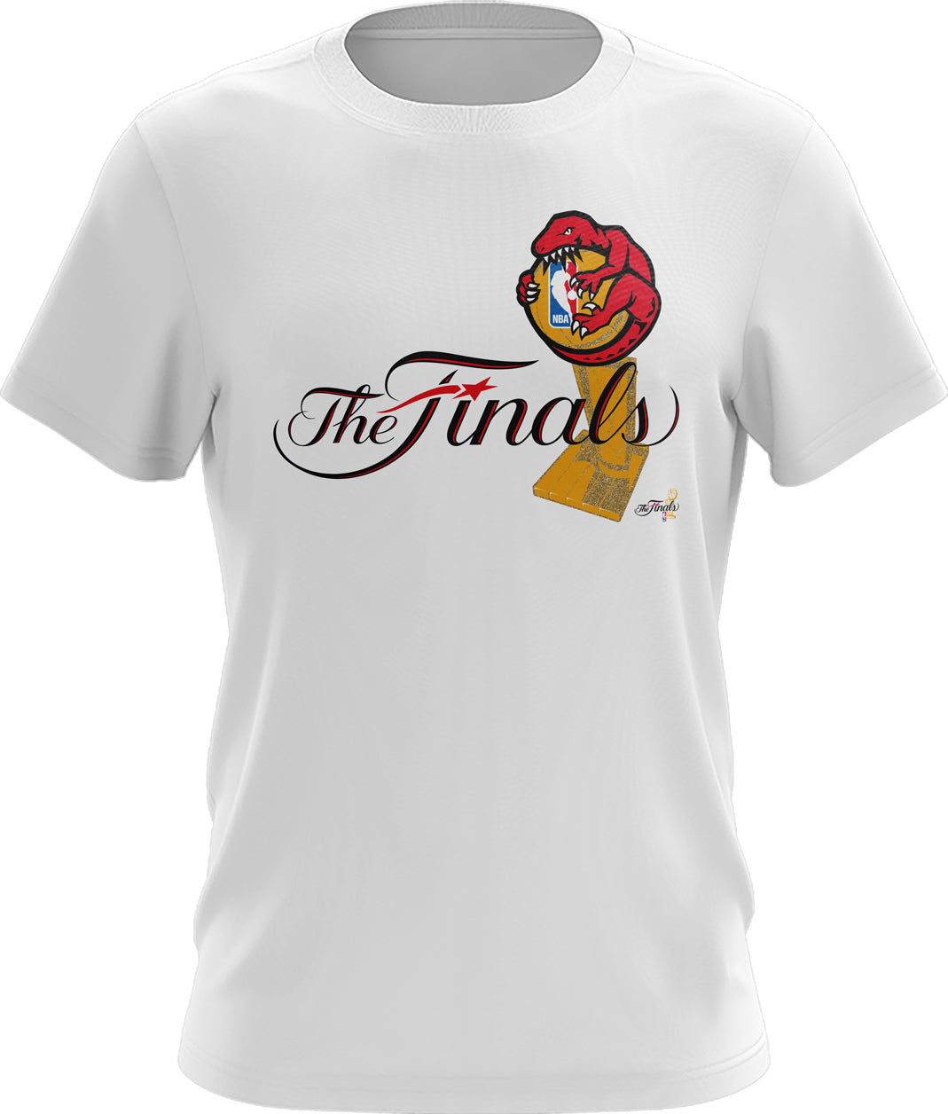The Finals Retro Logo Toronto Raptors  Shirt
