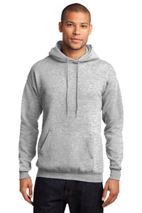 Fleece Hooded Sweatshirt / Ash Gray / TIDE