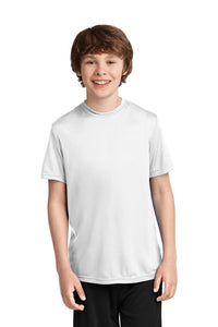 Youth Performance Shirt - White