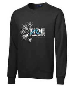 Sport-Tek Crewneck Sweatshirt /  Black / Holiday