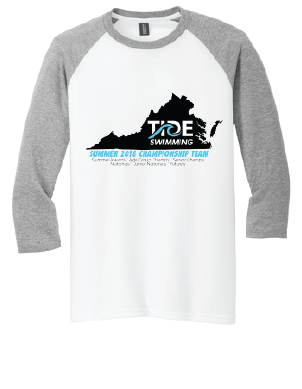 YOUTH TriBlend Raglan Tee - White/Gray