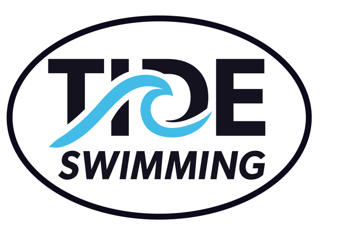 Removable Oval TIDE Sticker / TIDE