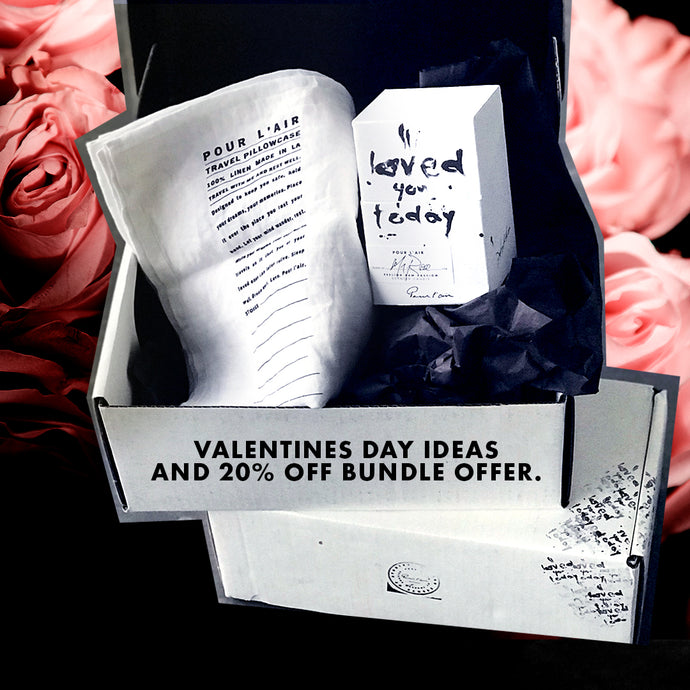 Valentine's Day ideas and 20% off bundle offer.