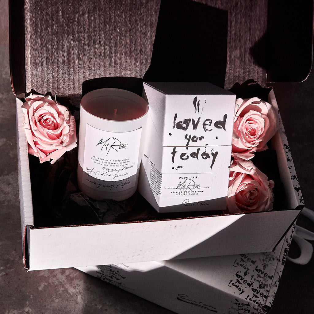 Stuff the Valentines box with Hershey kisses, roses, underwear, love notes or other fun items.