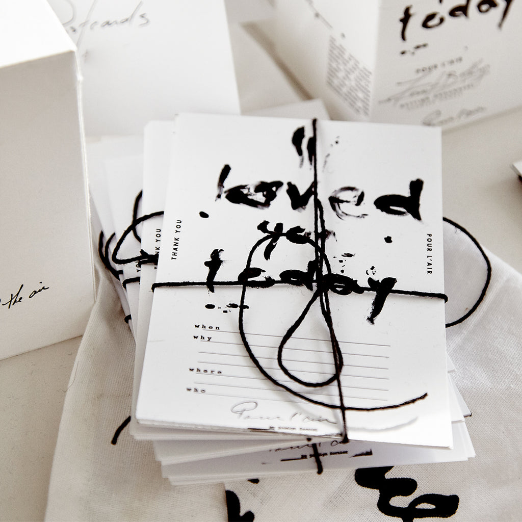 Stocking stuffer gift idea. A pack of postcards to make a handwritten note.