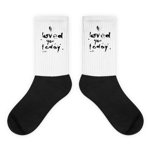 SOCKS_I loved you today