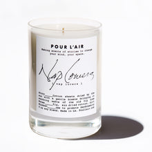 Load image into Gallery viewer, Nap Lovers candle smells like sun dried cotton sheets while sleeping under a fig tree. Promotes day dreaming.
