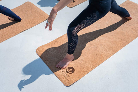 Cork Yoga Mats are Odor Free