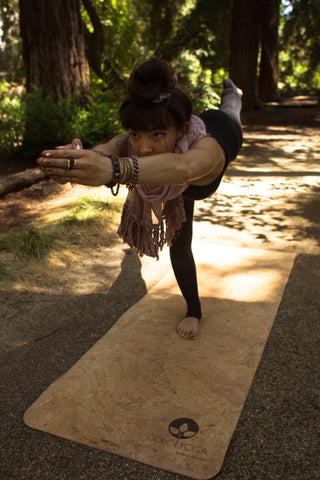 Yoga Outdoors with Corc Yoga Ambassador Marisa Naughton
