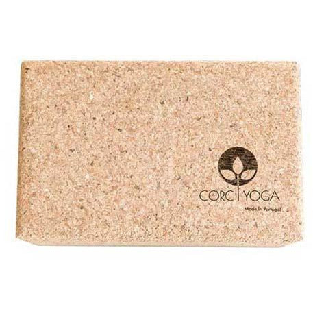 Bloco natural de Yoga Cork