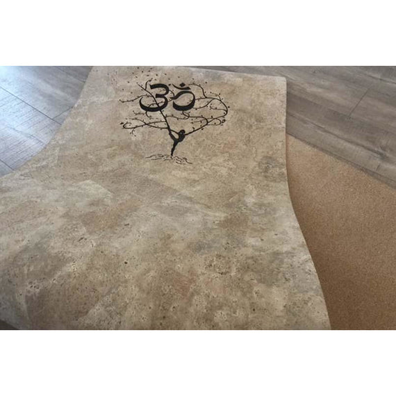 Breathe :: Custom Engraved Yoga Mat