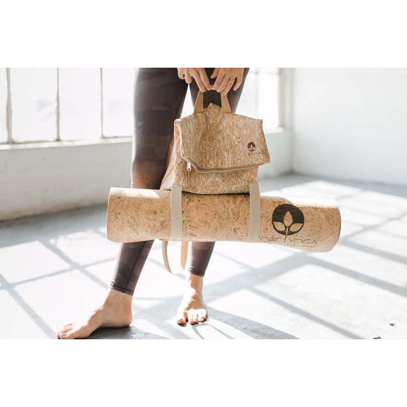 Transfer : Speckled : Cork Yoga Backpack