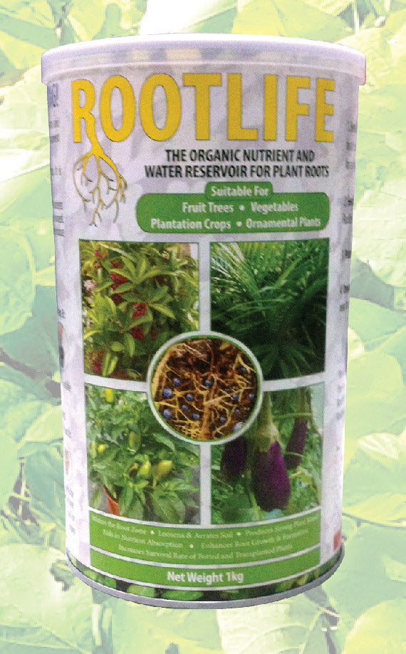 ROOTLIFE The Organic water & Nutrient Reservoir for Plants