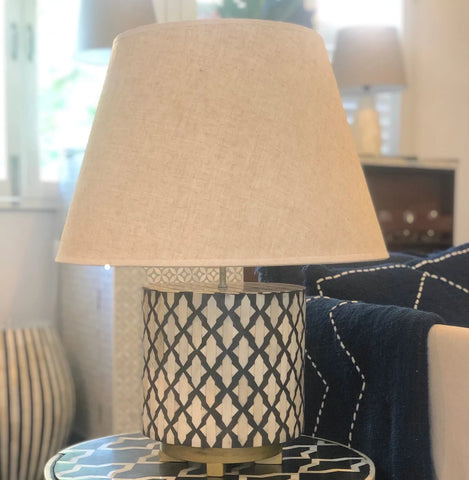 Tangier Pattern Table Lamp