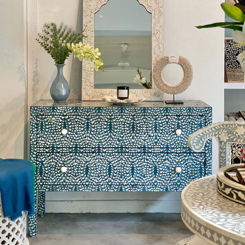 Jaipur Blue Chest