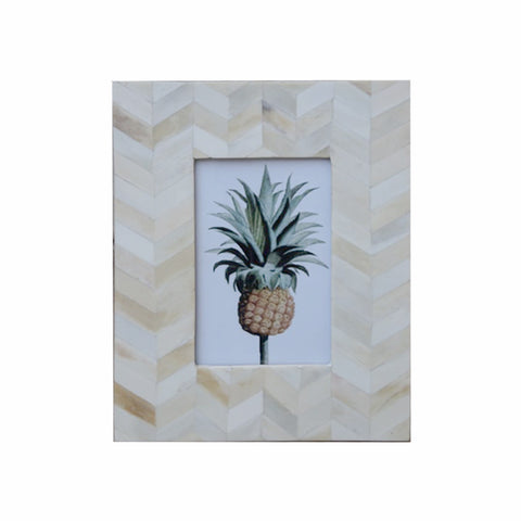 Herringbone Pattern Photo Frame