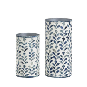 Floral Vase Collection - Small / Blue - Vases