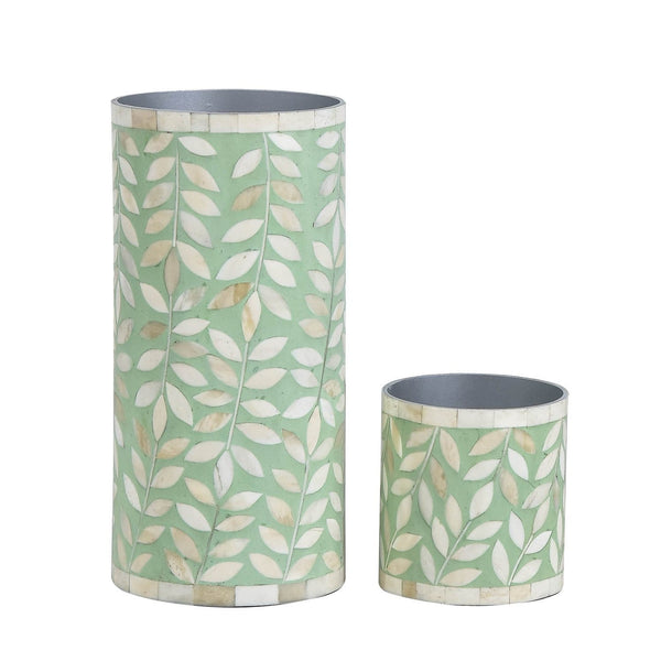 Floral Vase Collection - Small / Green - Vases