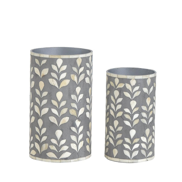 Floral Vase Collection - Small / Grey - Vases