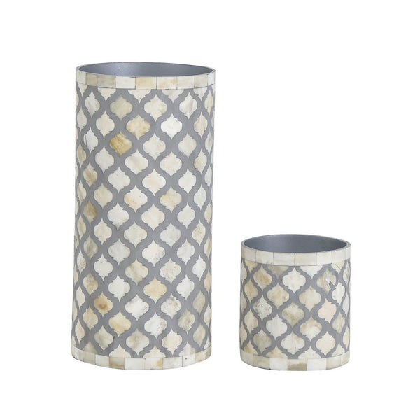 Mughal Vase Collection - Small / Grey - Vases