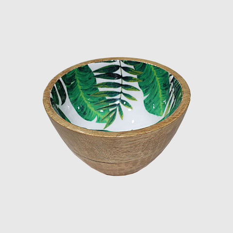 Palm Leaf Nut Bowl - Lacquered