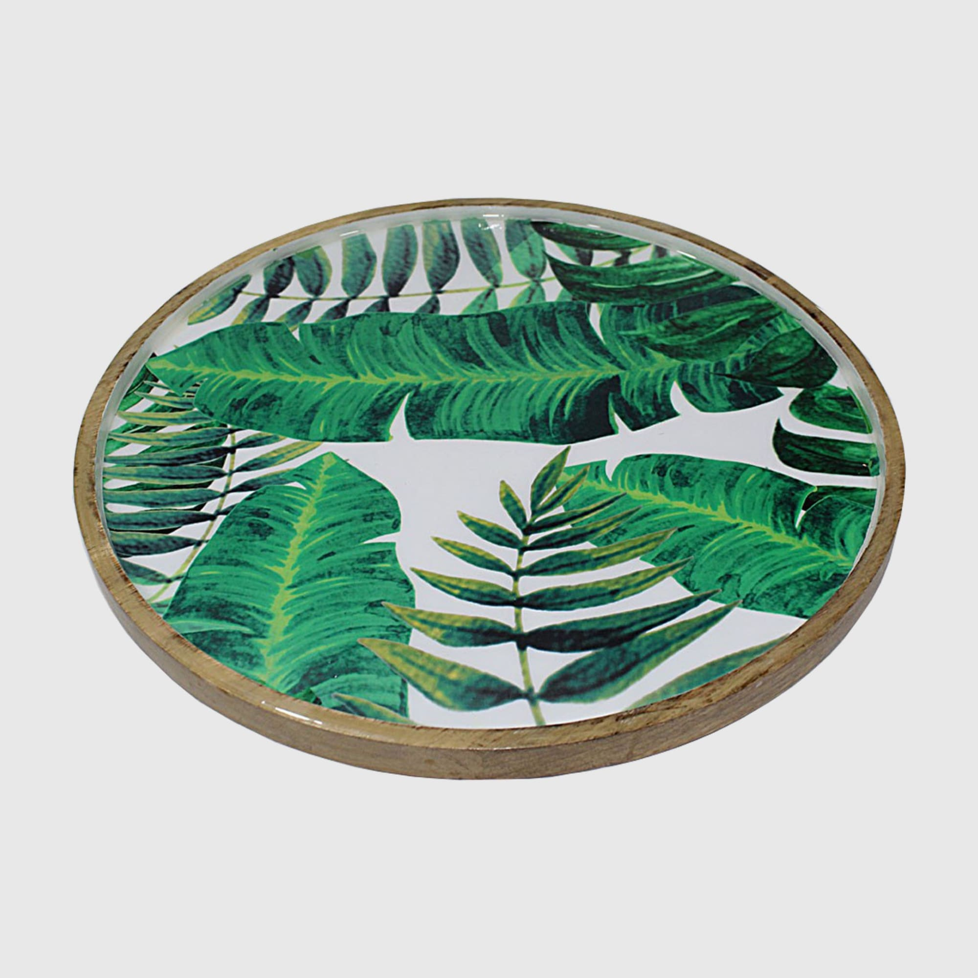 Palm Leaf Platter - Lacquered
