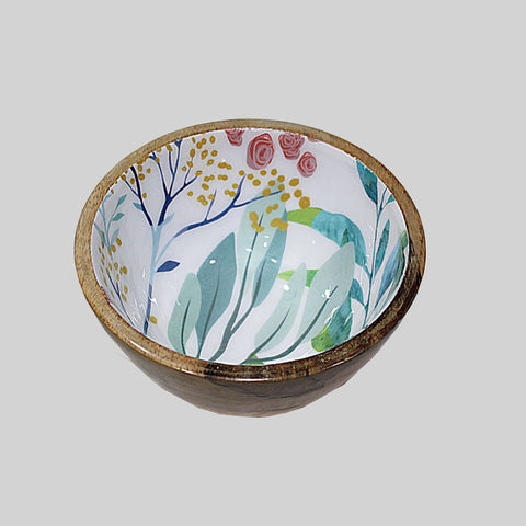 Spring Leaf Nut Bowl - Lacquered