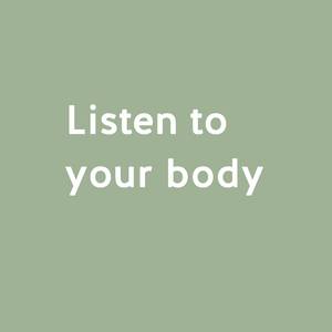 Listen to your body - Intuitive eating!