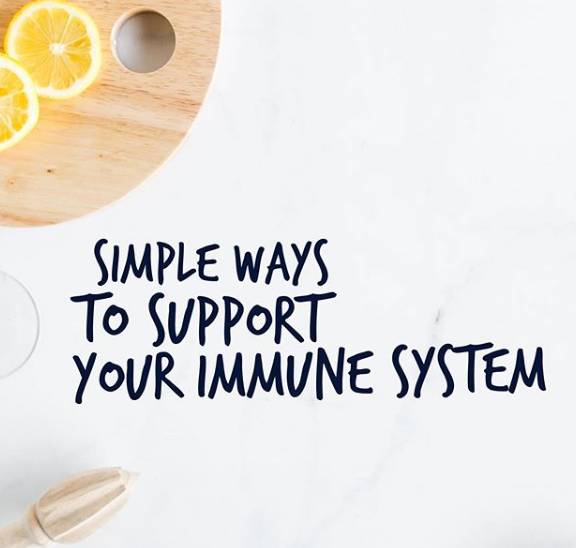 Simple ways to support your immune system