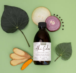 Ahi Cider Kawakawa Tonic 300ml - with added Horseradish
