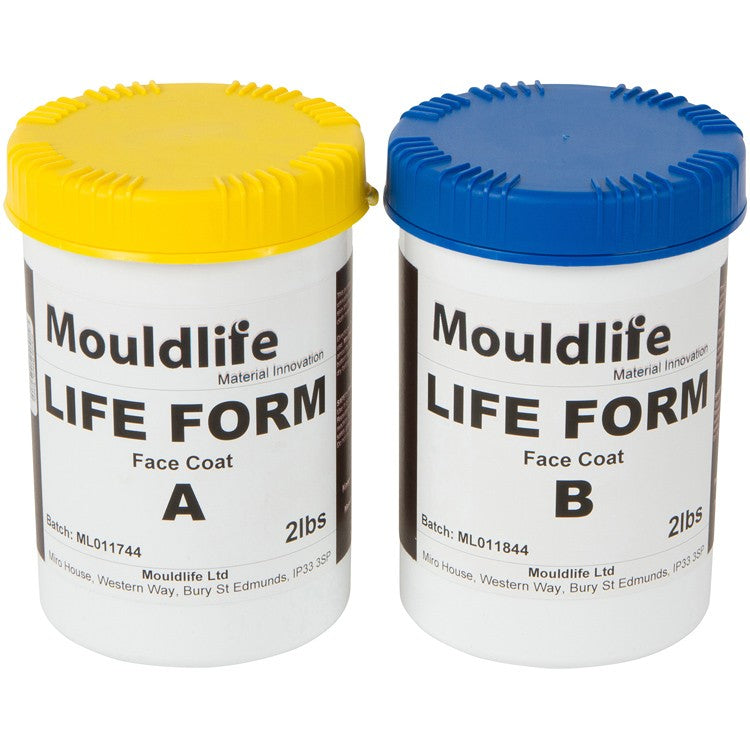 Mouldlife - Lifecasting Face Coat Silicone (Parts A&B 1kg)