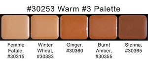 Graftobian HD Glam Creme Palette Warm #3