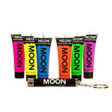 Load image into Gallery viewer, Moon Glow UV Neon Paint (With Free UV Keyring)
