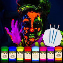 Load image into Gallery viewer, Jojoin UV Neon Face & Body Paint