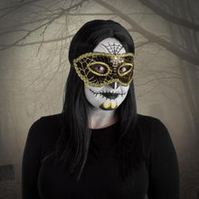 Load image into Gallery viewer, Fright Nite Masquerade Mask (Assorted Colours)